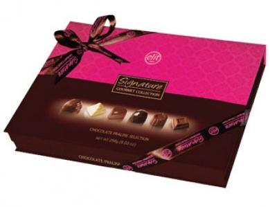 Signature Spesiyal Çikolata Pembe Kutu (256 Gr)