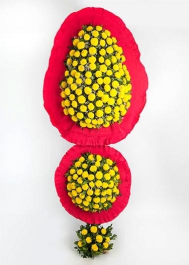 Sarı Çelenk Sepeti