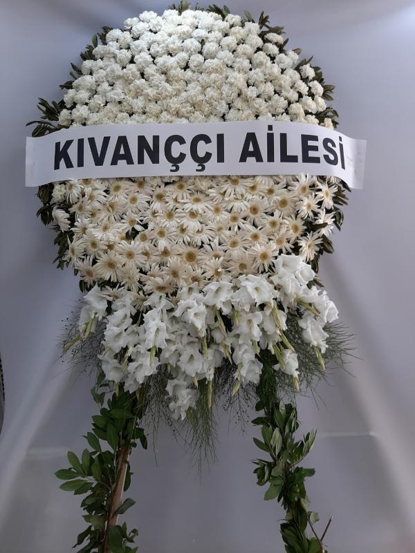 Beyaz Cenaze Çelengi Özel
