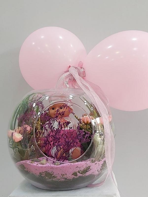 Balonlu Kız Bebek Teraryum
