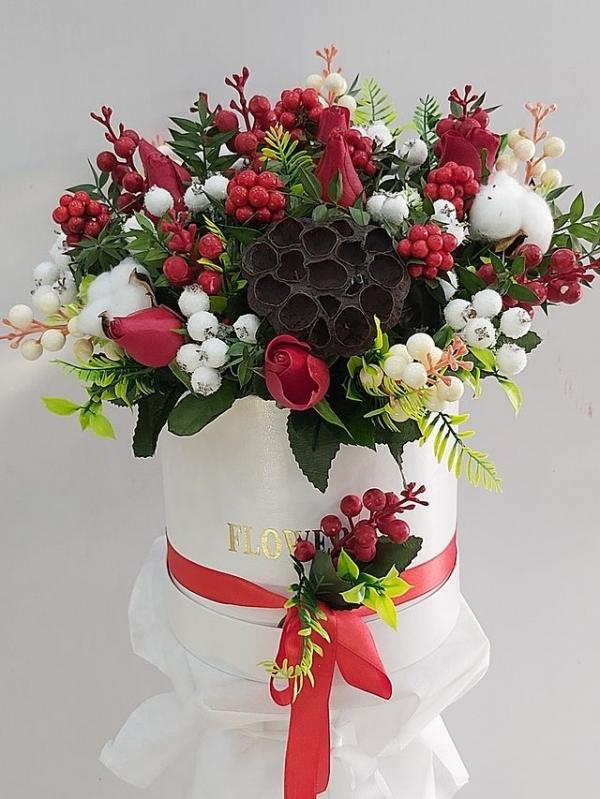 Kutuda Yılbaşı Çiçeği