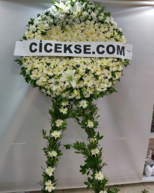 Beyaz Cenaze Çelenkleri